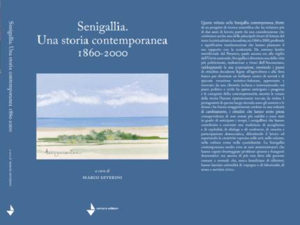 Copertina del libro sulla storia di Senigallia