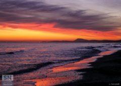 L'alba come un dipinto di Lorenzo Ceccarelli