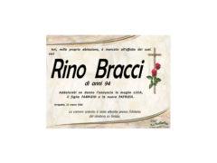 Rino Bracci necrologio