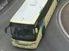 Grazie da autisti di autobus di Senigallia a personale dell'ospedale