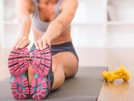 Allenamento in casa, fitness, benessere