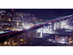 Cantiere del nuovo ponte di Genova