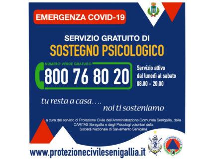 il sostegno psicologico gratuito