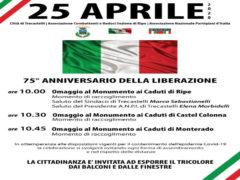 25 aprile, a Trecastelli