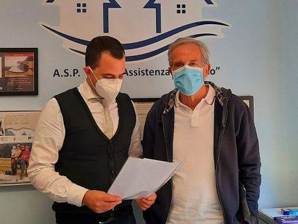 Giorgio Sbaraglia e Simone Ricci
