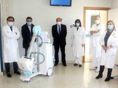 donazione di un apparecchio radiologico portatile da corsia da parte della ditta Fiorini