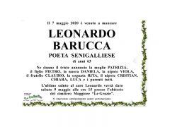 Il 7 maggio 2020 è venuto a mancare Leonardo Barucca