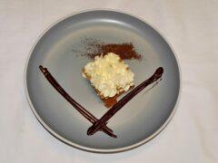 Cremoso al mascarpone con ganache di cioccolato e caffè - ricetta Insolito Bistrot