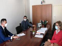 Incontro tra il sindaco di Senigallia Mangialardi e i vertici della sanità regionale