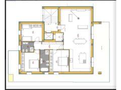 Annuncio vendita Levante Immobiliare: piantina appartamento in costruzione al Vivere Verde