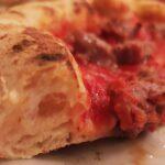 La pizza della Pizzeria Simoncelli di Senigallia
