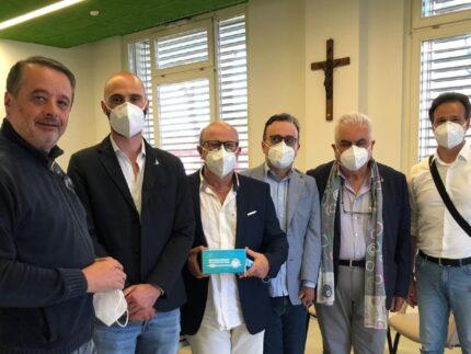 Delegazione della Lega alla Fondazione Città di Senigallia