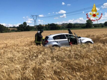 Incidente lungo la Provinciale Corinaldese a Senigallia