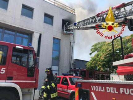 Vigili del Fuoco, intervento via Abbagnano