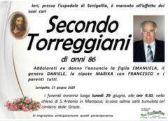 Secondo Torreggiani, necrologio