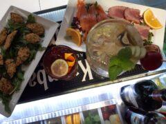 Aperitivo di pesce tutti i venerdì allo Skizzo Bar di Senigallia
