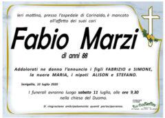 Fabio Marzi, necrologio