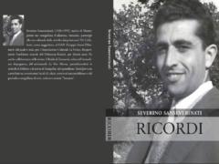 Copertina del libro di memorie di Severino Sanseverinati
