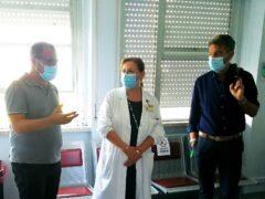 Donazione ecografo mobile a reparto Ortopedia dell'ospedale di Senigallia