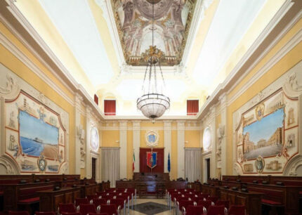 Sala consiliare, Consiglio Comunale, Municipio di Senigallia