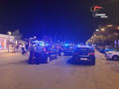 Controlli dei Carabinieri sul lungomare di Senigallia
