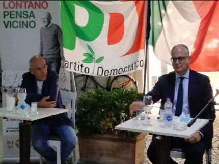 Gualtieri a Senigallia: a sostegno di Volpini e Mangialardi