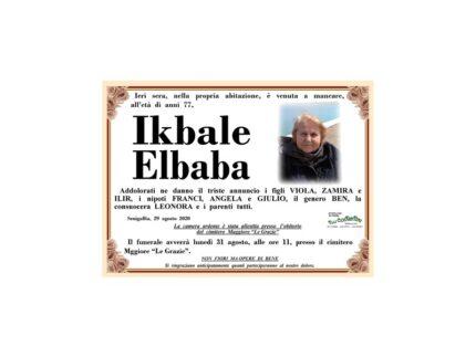 Necrologio Ikbale Elbaba