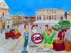 Sospensione della fiera - Vignetta di Massimo Nesti