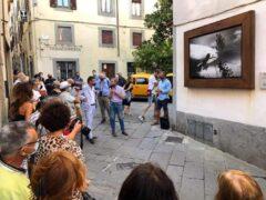 Foto di Lorenzo Cicconi Massi esposta a Bibbiena