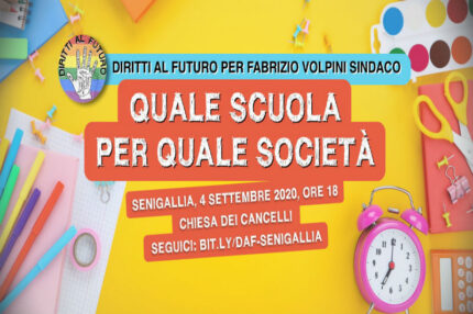 Diritti al Futuro, incontro scuola