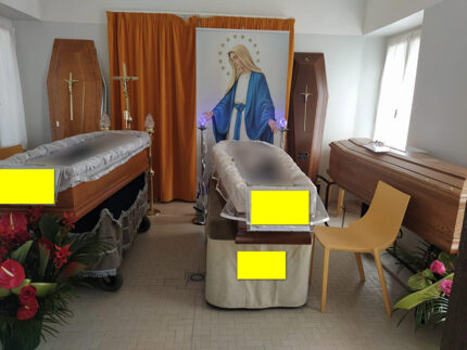 Camera mortuaria cimitero Le Grazie