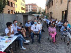 Fabrizio Volpini incontra la cittadinanza a Marzocca