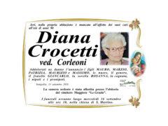 Necrologio Diana Crocetti