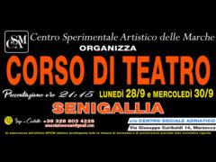 Corso di Teatro a Senigallia promosso da Centro Sperimentale Artistico delle Marche
