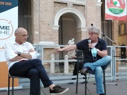 Vasco Errani a Senigallia con Fabrizio Volpini