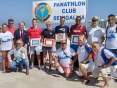 Nuoto in acque libere Panathlon Club Senigallia: Traversata Cesano-Rotonda a Mare