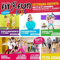 FitxFun Kids alla palestra centro fitness FitxFun di Senigallia