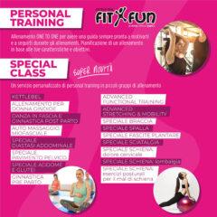 Personal training e Special Class alla palestra centro fitness FitxFun di Senigallia