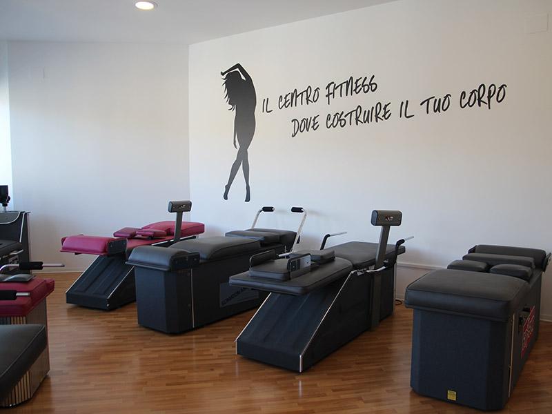 Palestra centro fitness FitxFun a Senigallia - Area wellness Seven Toning