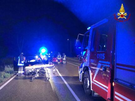 Incidente stradale a Brugnetto