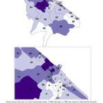 Distribuzione geografica voti per Gennaro Campanile