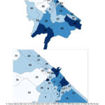 Distribuzione geografica voti per Massimo Olivetti