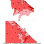 Distribuzione geografica voti per Fabrizio Volpini