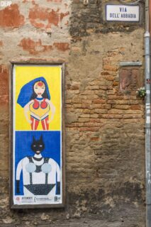 Opera degli artisti Lapsus esposta a Bologna per il Festival Outsider Art Arte Irregolare