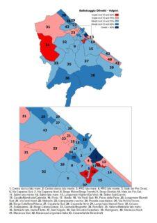 L'esito del ballottaggio sezione per sezione - mappa completa