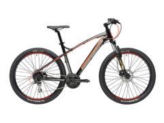 Adriatica Wing nero-rosso - bicicletta muscolare