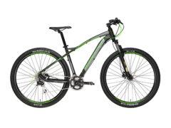 Adriatica Wing nero-verde - bicicletta muscolare
