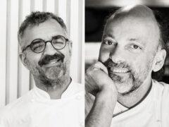 Gli Chef Mauro Uliassi e Moreno Cedroni