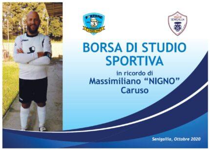 Borsa di studio sportiva Massimiliano Nigno Caruso