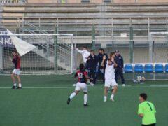 Carsetti (Vigor Senigallia) esulta dopo il gol del pareggio al 92'